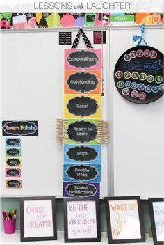 Using Punch Cards with a Classroom Clip Chart - Lessons With Laughter