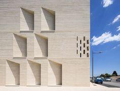 Tautem et BMC2 - Médiathèque, nominée à l'Equerre d'Argent 2015