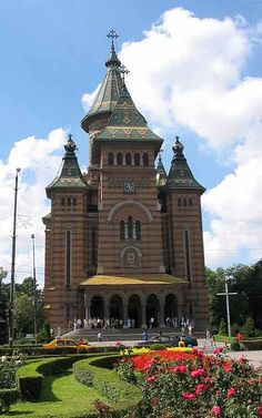 #Eastern_Orthodox_Cathedral #Timisoara_Romania  #Timisoara Places Around The World, Around The Worlds, Timisoara Romania, Famous Buildings, Cathedral Church, Spain And Portugal, Iglesias, Mosques, Place Of Worship