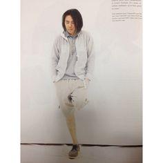 「色合いが好きです、。 ショーツはUE、。 #fujiwarahiroshi #fragment#藤原ヒロシ#uniformexperiment」