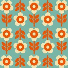 Bonnie and Buttermilk für unterwegs.Jetzt gibt's i Boho Pattern, Flower Pattern Design, Surface Pattern Design, Flower Patterns, Circle Pattern, Motifs Textiles, Textile Patterns, Retro Wallpaper, Pattern Wallpaper