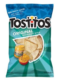 Packaging of the World: Creative Package Design Archive and Gallery: Tostitos Packaging Snack, Coffee Packaging, Tostitos Dip, Classic Restaurant, Tortilla Chips, Packaging Design Inspiration, Food Items, Snack Recipes, The Originals