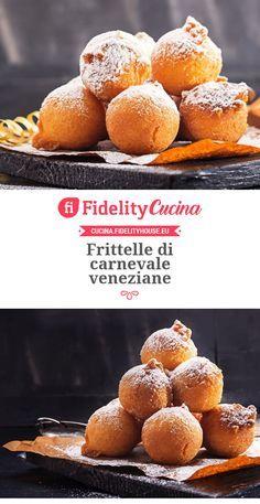 """Frittelle di Carnevale Veneziane"" Link ricetta --> https://cucina.fidelityhouse.eu/dolci/frittelle-di-carnevale-veneziane-210867.html"