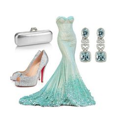 Could you picture this for an ultra glamorous Frozen: Queen Elsa Costume!!!