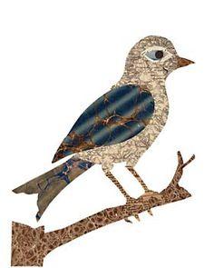 song bird paste piece