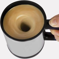 Self Stirring Mug  $17 God I need this