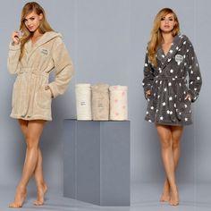 59,90€ robe de chambre femme grise -- robe de chambre femme