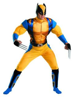 Disguise The Wolverine Classic Muscle Mens Adult Costume, Yellow/Blue,  X-Large/42-46 Disguise Costumes http://www.amazon.com/dp/B002OOQ1M6/ref=cm_sw_r_pi_dp_Y1IOtb0A0WMDGDNV
