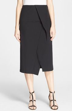 MARC BY MARC JACOBS Fold Front Skirt available at #Nordstrom