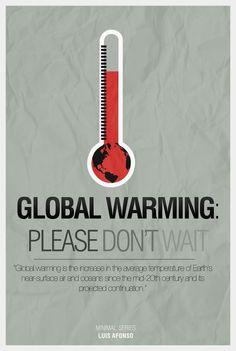 33 Creative Global Warming Poster Designs for your inspiration. Read full article: http://webneel.com/webneel/blog/33-creative-global-warming-poster-designs-your-inspiration | more http://webneel.com/advertisements | Follow us www.pinterest.com/webneel