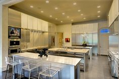 This is a modern #kitchen with masculine features. www.remodelworks.com