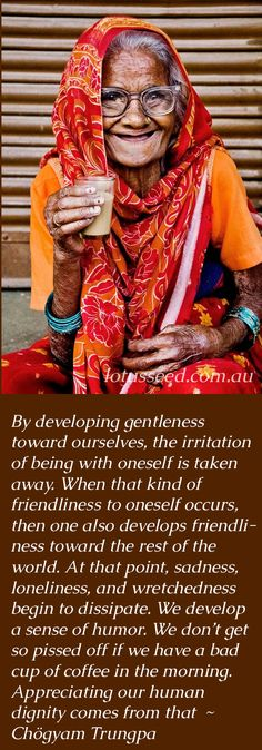 Develop friendliness -Chogyam Trungpa Buddhist Zen quotes by lotusseed.com.au