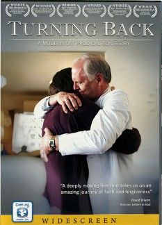 Turning Back: A Modern Day Prodigal Son Story - Christian Movie/Film on DVD. Dave Patterson returns home three years after leaving with his father's money. He humbly faces his family after wasting an inheritance through a self-indulgent lifestyle.  http://www.christianfilmdatabase.com/review/turning-back/