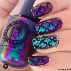 Hey there lovers of nail art! In this post we are going to share with you some Magnificent Nail Art Designs that are going to catch your eye and that you will want to copy for sure. Nail art is gaining more… Read Fabulous Nails, Gorgeous Nails, Pretty Nails, Nails Opi, Hot Nails, Nail Lacquer, Nail Polish, Uñas Diy, Nail Stencils