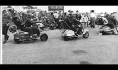 Bridlington Scooter Rally late 70's