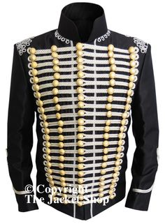 Image issue du site Web http://www.thejacketshop.co.uk/Military-Jackets/silver-braid-officers-military-jacket.jpg