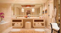 Bathroom at Wynn Las Vegas