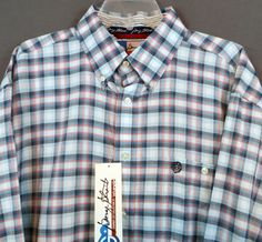 $39!  4X AVAILABLE TOO! WRANGLER George Strait MENS SHIRT Western Button Up Cowboy Rodeo NWT 3XLT #wranglergeorgestrait #Western