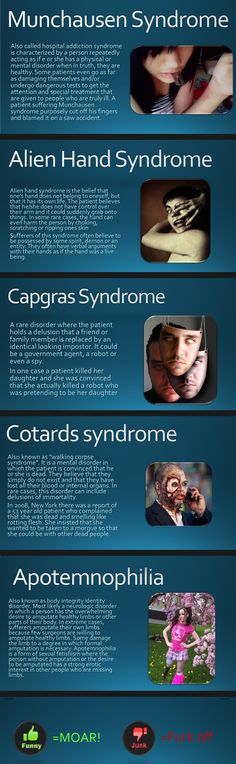 Rare Mental Disorders  // funny pictures - funny photos - funny images - funny pics - funny quotes - #lol #humor #funnypictures
