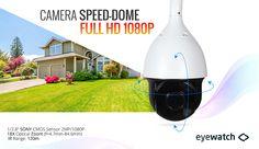 Camera profesionala speed dome Full HD 1080P la cel mai bun pret! Camera rotativa PTZ de exterior vine echipata cu senzor SONY 2.1 MPx, leduri ce acopera pe timpul noptii pana la 120 de metri si zoom optic 18X (f=4.7mm-84.6mm). Detalii complete aici: http://supraveghere-camere.net/home/112-camera-speed-dome-sony-full-hd-21-megapixeli-zoom-18x-ahd.html