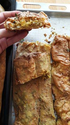 Στριφτή τυρόπιτα με αλεύρι ζέας και κατσικίσια φέτα - the εudεmonia