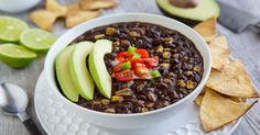 You will be amazed at how delicious and easy this Instant Pot Black Bean Soup is. Cumin and chipotle give it a deep, rich flavor. Vegan Slow Cooker, Pressure Cooker Recipes, Pressure Cooking, Black Bean Soup, Black Beans, White Bean, Vegan Soups, Vegan Recipes, Vegan Ideas