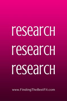 Before an interview: research, research, research!!!!