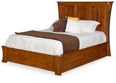 Caledonia Short Footboard Panel Bed