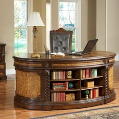 Ambella Home 08947-320-076 Rawling Executive Desk