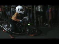 V-1 Drag Bike Championship Series 2016 Mojoagung -  Duel Panas Juara 3 V...