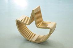 Dos-à-Dos Children's Rocking Chair