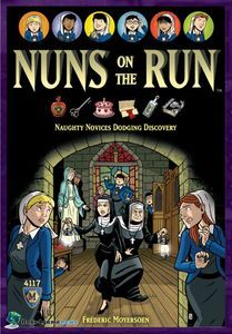 Nuns on the Run is a like a reverse of Scotland Yard. Players play either as a novice, or as the Abbess or Prioress. The Novices move in secret and avoid being seen or heard by the Abbess or Prioress. Fun Games, Games To Play, Board Game Geek, Table Games, Game Night, Game Design, Memoirs, That Way, Card Games