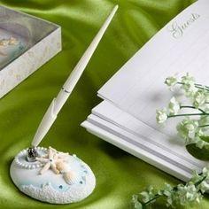 Strand themenorientierte Hochzeit Pen-Set