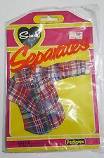 MOC Pedigree Sindy doll separates outfit 1981 44033 lumber jack shirt