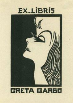 Ex Libris Greta Garbo
