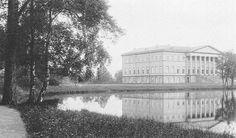 English palace in Peterhof. Architect Giacomo Quarenghi. Foto 1900.