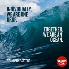 http://www.values.com/inspirational-quotes/7585-individually-we-are-one-drop-together-we-are