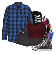 """""""Untitled #1119"""" by b3thst ❤ liked on Polyvore featuring Converse"""