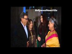 aishwarya rai and jaya bachchan attend subhash gai's birthday party.