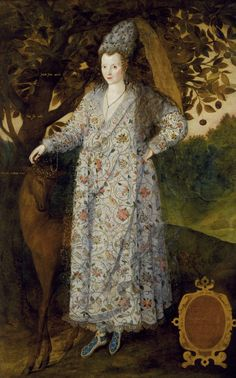 Marcus Gheeradts the Younger, Portrait of an Unknown Woman, c.1590-1600. Courtesy Royal Collection Trust (C) Her Majesty Queen Elizabeth II ...