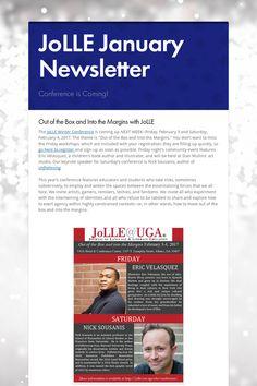 JoLLE January Newsletter