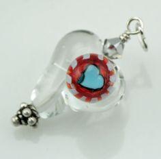Handmade Art Charm by Jen Cameron - 100% Proceeds Donated to Beads of Courage - eBay - starting bid $7.50