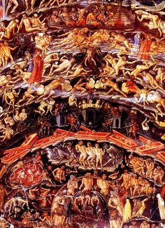 1415-1425 Bartolomeo di Fruosino Illustration de l'Enfer de Dante bndf, Paris