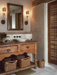 Best Photo Gallery For Website A rustic yet elegant bathroom designed by Solis Betancourt u Sherrill