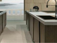 Design Italian  kitchen Grattarola Trapezio, made in Italy