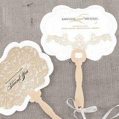 Vintage Lace Hand Fan With Decorative Shape Weddingstar Custom Wedding Favours Invitations