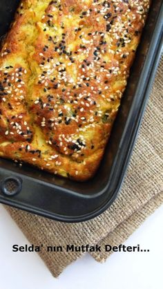 Selda' nın Mutfak Defteri...: Patatesli Kek