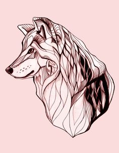 Wolf Art Print by Kathryn Repas   Society6