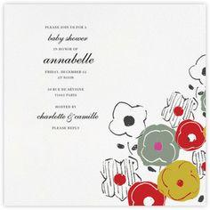 custom baby shower invitations baby shower