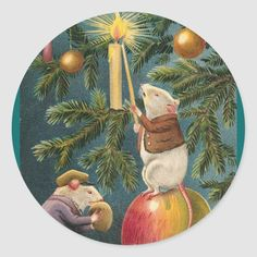 Christmas Coasters, Christmas Candles, Christmas Stickers, Round Stickers, Different Shapes, Resin Art, Make Your Own, Vintage Shops, Custom Stickers